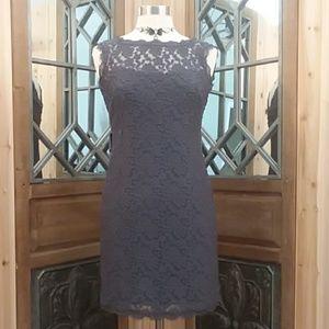 Adrianna Papell Evening Lace Sheath Dress